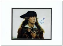 Keira Knightley Autograph Photo - Pirates Of The Caribbean